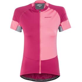 Ziener Enrike Kortærmet cykeltrøje Damer pink